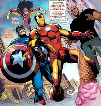 Avengers (Earth-TRN207) from Amazing Spider-Man Annual Vol 1 39 001
