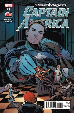 Captain America Steve Rogers Vol 1 8