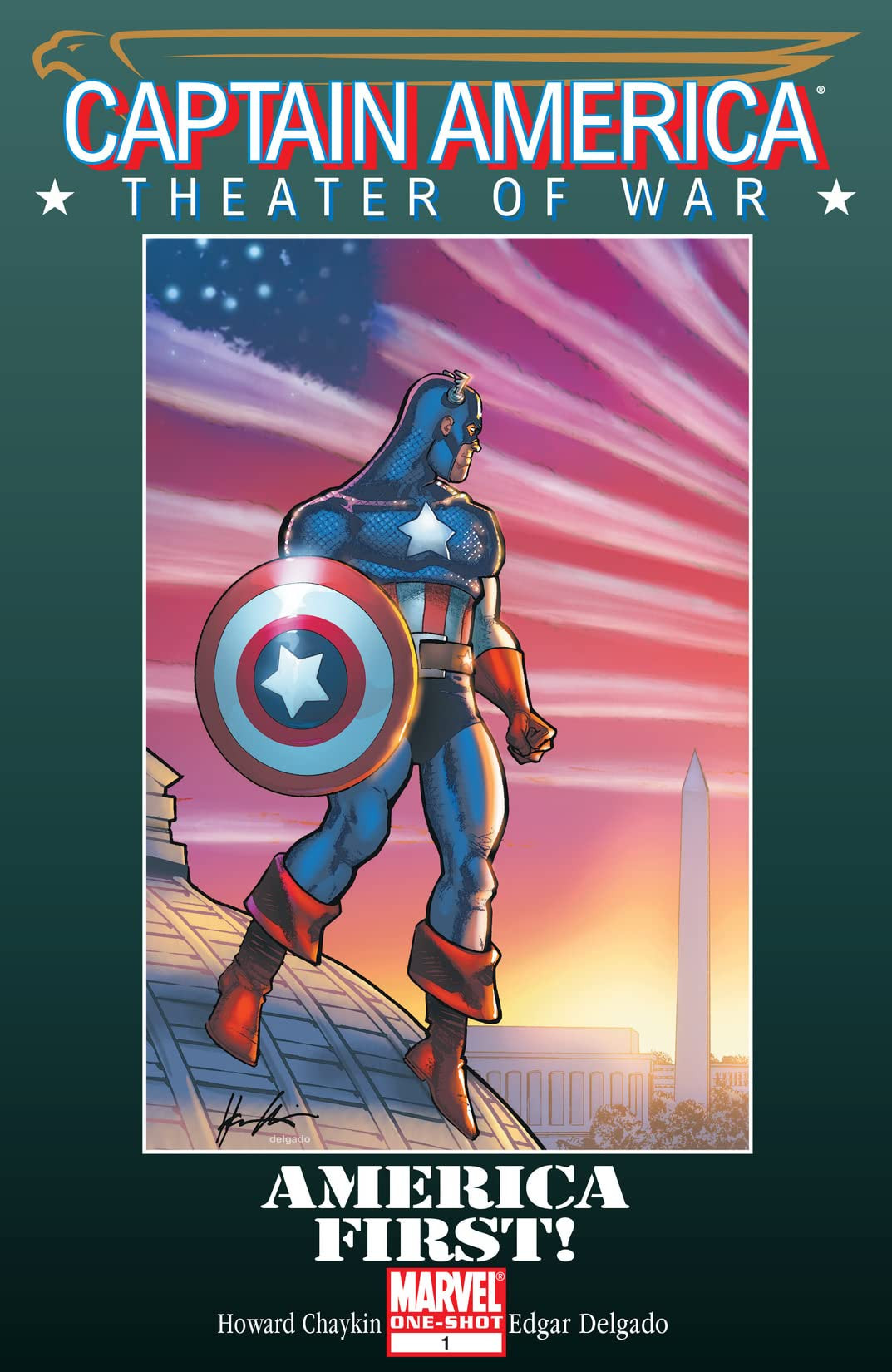 Captain America Theater of War America First! Vol 1 1 Variant