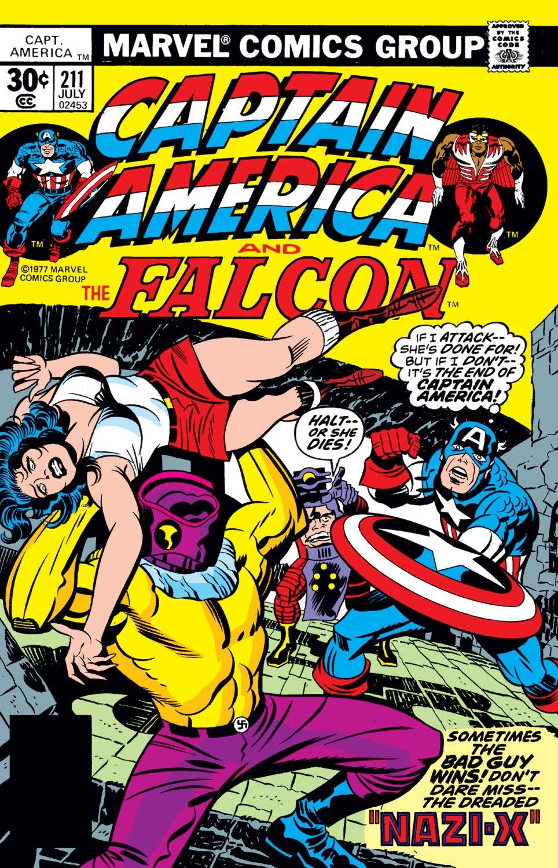 Captain America Vol 1 211