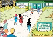 Centerville High School from Patsy Walker, A.K.A. Hellcat! Vol 1 10 001
