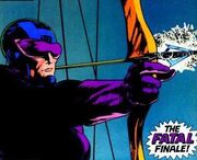 Clinton Barton (Earth-616) from Avengers Spotlight Vol 1 36 0001