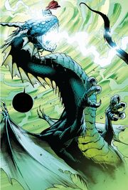 Cul Borson (Earth-616) and Thor Odinson (Earth-616) from Fear Itself Vol 1 7 001