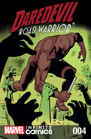 Daredevil Road Warrior Infinite Comic Vol 1 4