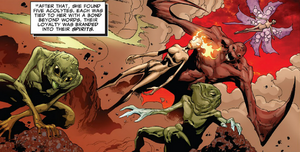 Five Lights (Demons) (Earth-616) from Uncanny X-Men Vol 2 13 0001