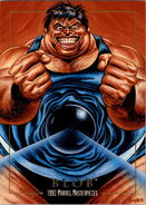 Frederick Dukes (Earth-616) from Marvel Masterpieces Trading Cards 1992 0001
