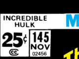 Incredible Hulk Vol 1 145
