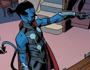 Kurt Wagner (Thor Corps) (Earth-15513) from A-Force Vol 1 3 001
