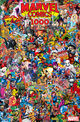 Marvel Comics Vol 1 1000 Collage Variant