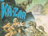 Marvel Graphic Novel: Ka-Zar: The Guns of the Savage Land Vol 1 1