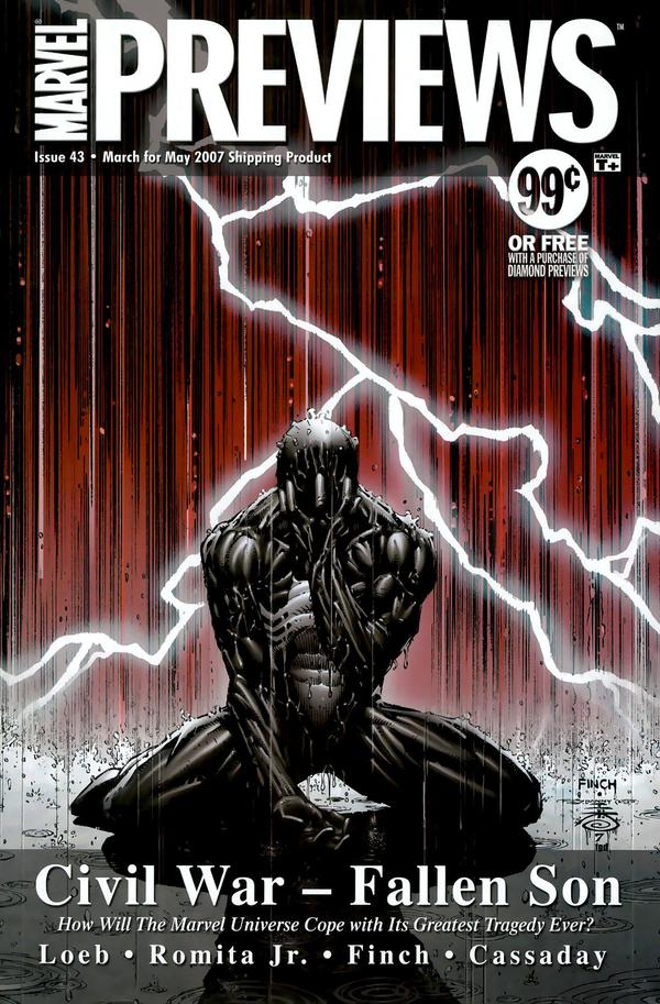 Marvel Previews Vol 1 43