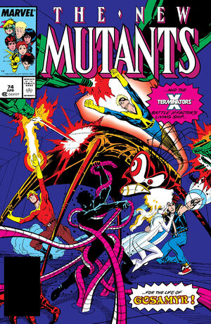 New Mutants Vol 1 74