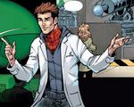 Peter Parker (Tony Richards) (Earth-616) from Amazing Spider-Man & Silk- The Spider(fly) Effect Infinite Comic Vol 1 5 001