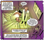 Quentin Beck (Earth-616) is diagnosed with cancer from Daredevil Vol 2 7 Page 8 Panel 2