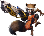 Rocket Raccoon (Earth-TRN789) from Marvel Super War