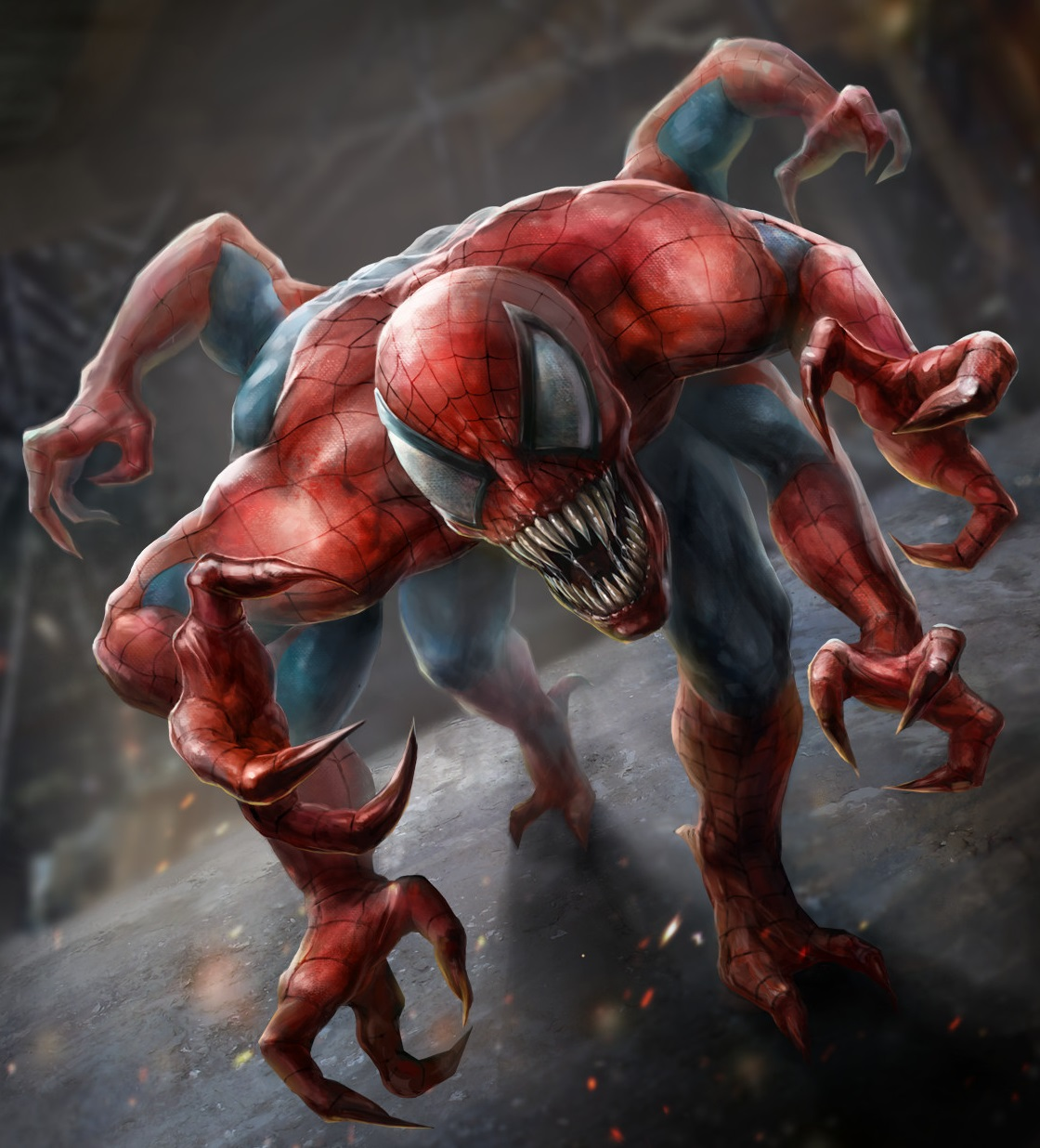 Картинки шестирукий паук