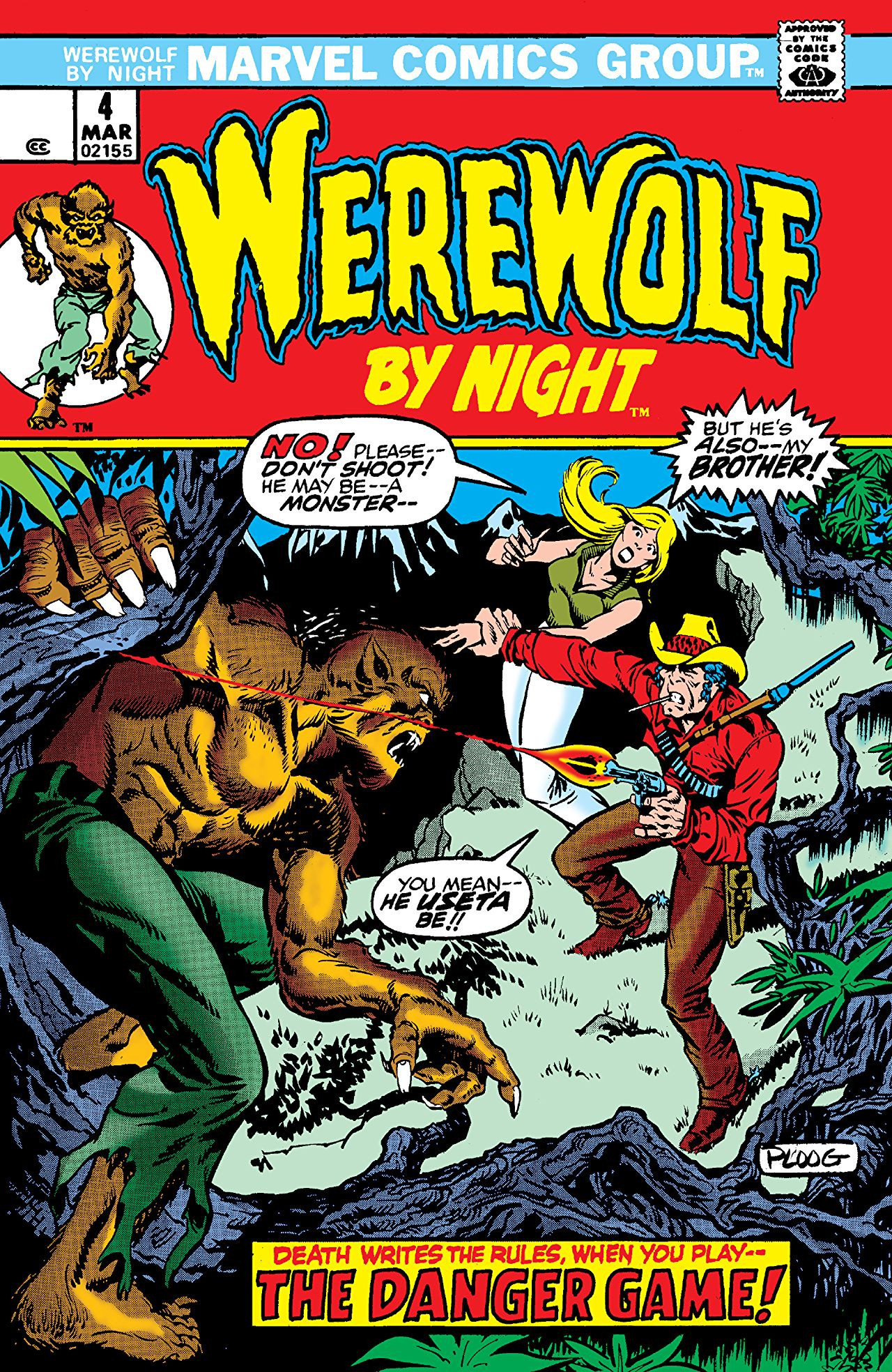 Werewolf by Night Vol 1 4 | Marvel Database | FANDOM ...