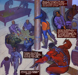 Avengers (Earth-9511) from The Last Avengers Story Vol 1 1 0001