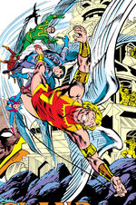 Bird-People from Thor Annual Vol 1 12 001