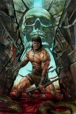 Conan the Barbarian Vol 3 1 Granov Variant Textless