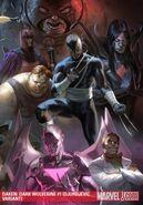Daken Dark Wolverine Vol 1 1 Textless Djurdjevic Variant