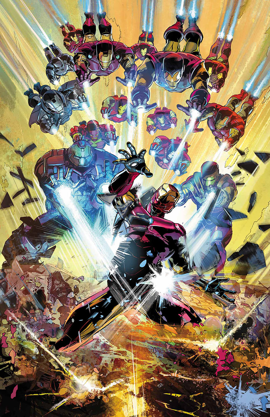 Invincible Iron Man Vol 1 596 Textless