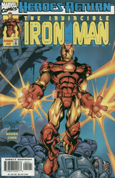 Vol.3 1998 Kurt Busiek /& Sean Chen No.3 The Invincible Iron Man