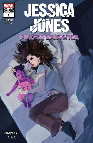 Jessica Jones Purple Daughter - Marvel Digital Original Vol 1 1 Purple Daughter Chapter 1
