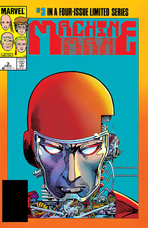 Machine Man Vol 2 3