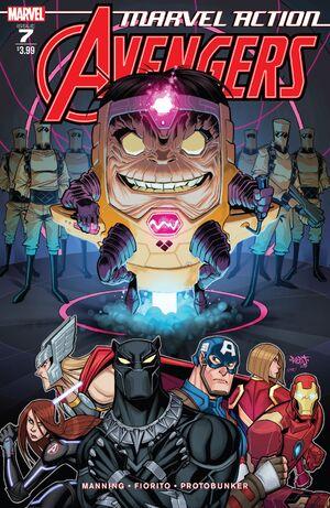 Marvel Action Avengers Vol 1 7