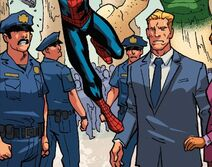 New York City Police Department (Earth-20051) from Marvel Adventures Spider-Man Vol 2 20 0001