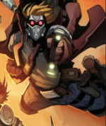 Peter Quill (Earth-7642) from Free Comic Book Day Vol 2015 (Secret Wars) 001