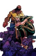 Power Man and Iron Fist Vol 3 10 Canete Variant Textless
