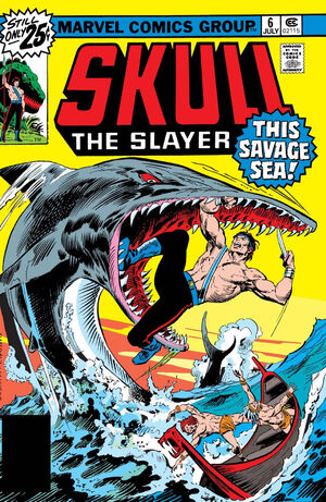 Skull, the Slayer Vol 1 6
