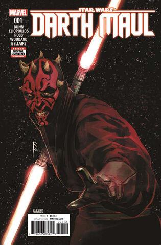 File:Star Wars Darth Maul Vol 1 1 Second Printing Variant.jpg