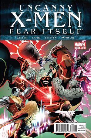 Uncanny X-Men Vol 1 541