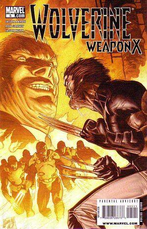 Wolverine Weapon X Vol 1 5