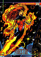Angelica Jones (Earth-616) from Marvel Universe Cards Series IV 0001