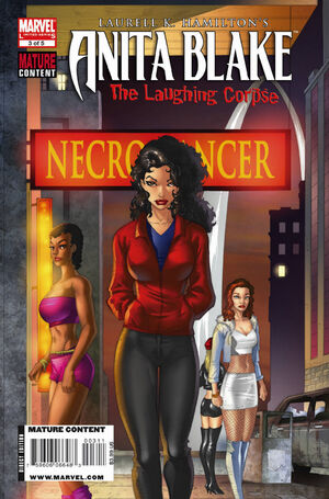 Anita Blake Laughing Corpse Necromancer Vol 1 3