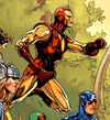 Anthony Stark (Skrull) (Earth-616) from Secret Invasion Vol 1 2 0001