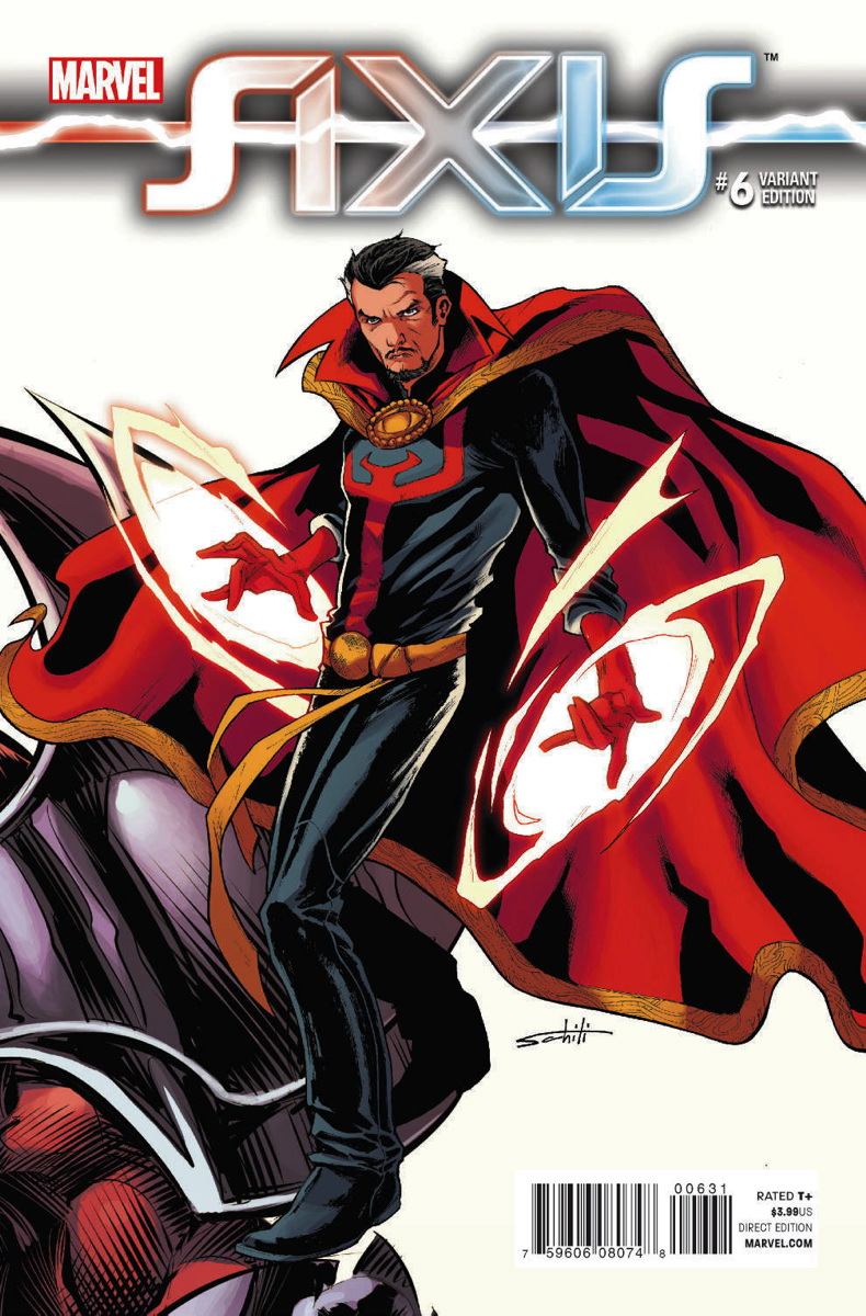 Avengers X Men AXIS Vol 1 6 Schiti Variant