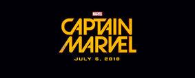 Captain Marvel (film) logo