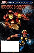 Free Comic Book Day Vol 2010 Iron Man Nova