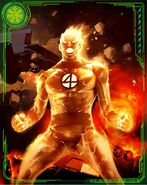 Jonathan Storm (Earth-616) from Marvel War of Heroes 016
