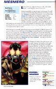 Marvel Encyclopedia Vol 1 2 page 154 Mesmero (Vincent) (Earth-616)