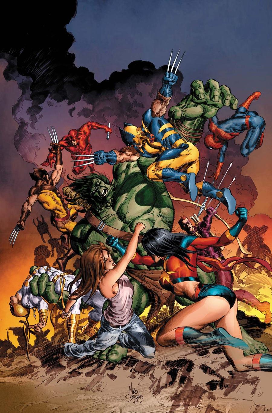 New Avengers Vol 2 20 Textless