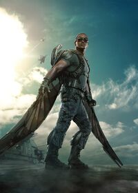 Samuel Wilson (Earth-199999) from Captain America The Winter Soldier Poster 001