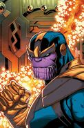 Thanos Legacy Vol 1 1 Lim Variant Textless