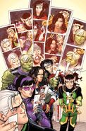 Young Avengers Vol 2 4 LaFuente Variant Textless