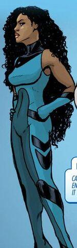 Asha (Wakandan) (Earth-616) from Infinity The Hunt Vol 1 1 001